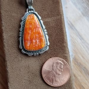 Beautiful Navajo Shell Pendant